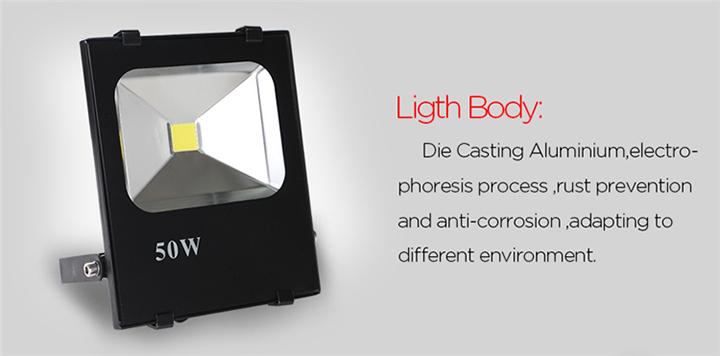LED Floodlight Body
