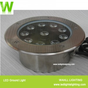 in ground led