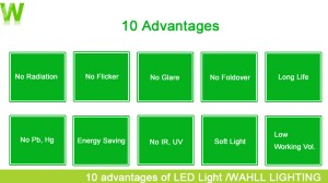 10 advantages of LED Light