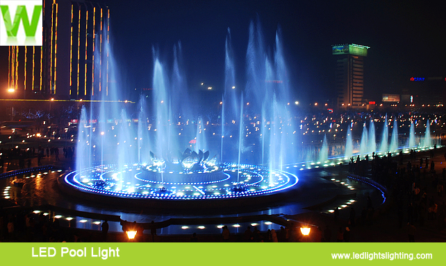 LED pool Light Application