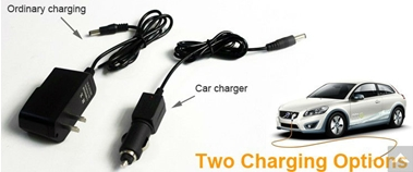 Two charging option