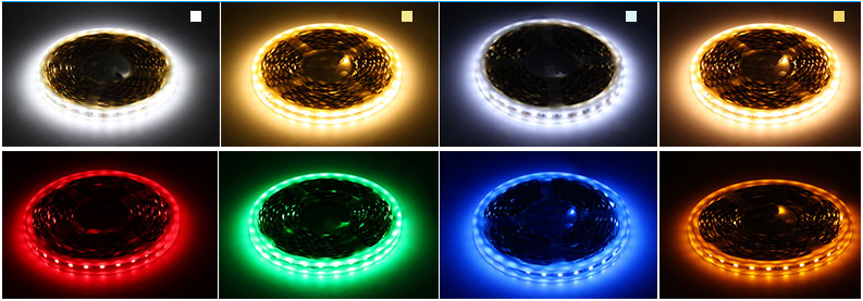 led strip light color