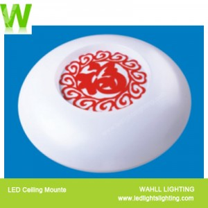 Ceiling Light Red Happy