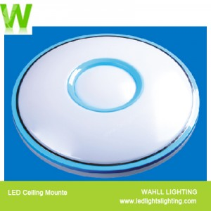 Ceiling Light Silver Circle