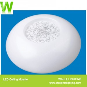 Ceiling Light Silver Snow