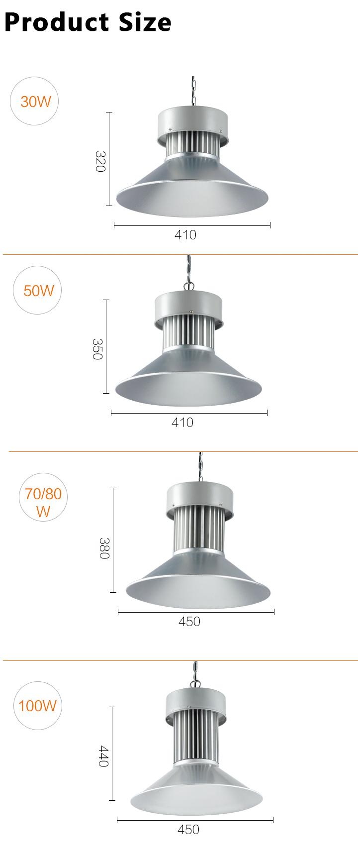 high bay light 30-100W